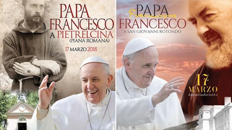 17 marca 2018 – szczegółowy program wizyty papieża Franciszka u Ojca Pio