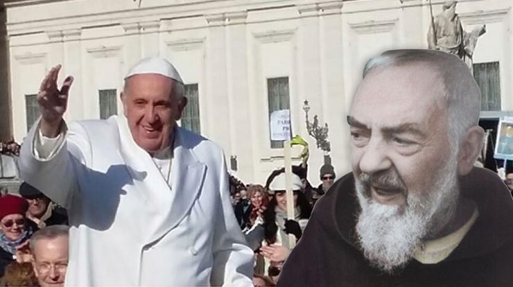 Papież 17 marca 2018 r. w Pietrelcinie i San Giovanni Rotondo z wizytą u Ojca Pio