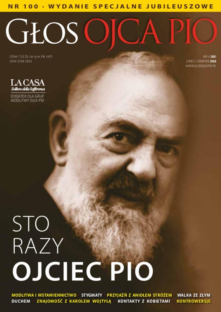Głos Ojca Pio 100 (4/2016)